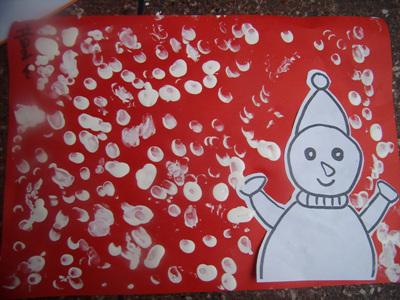 幼儿园大班剪纸小雪花步骤图