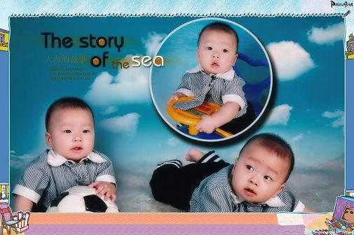 祝吴金昊小朋友生日快乐-生活因宝宝而精彩图片
