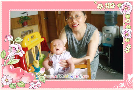 .祝刘可媛小朋友生日快乐-生活因宝宝而精彩图片