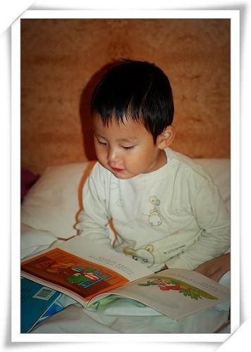 临睡前照例要亲子阅读滴!
