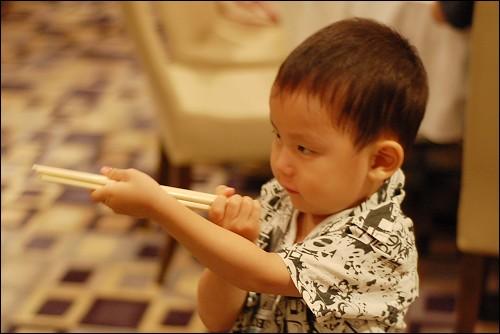 筷子当枪炮