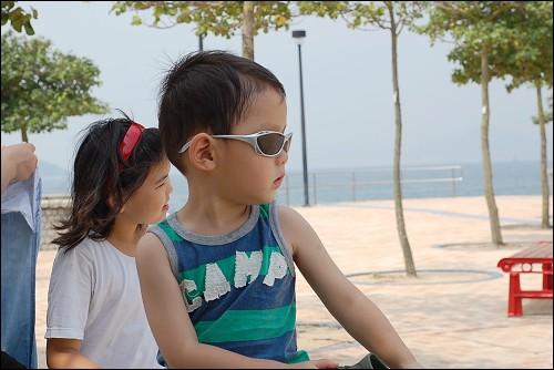 阴凉地方再看看沙滩大海