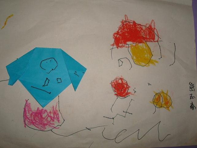 【幼儿园故事】之——剪贴画.房子