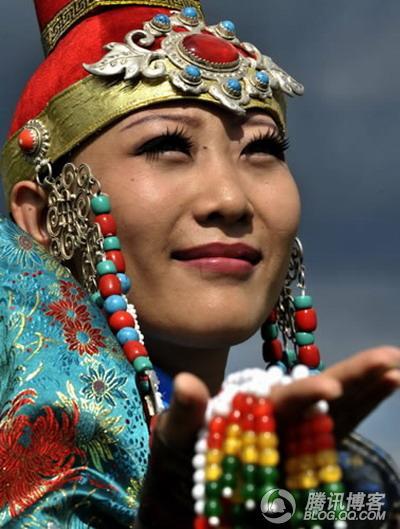 蒙古族服饰-海云 宝宝图片