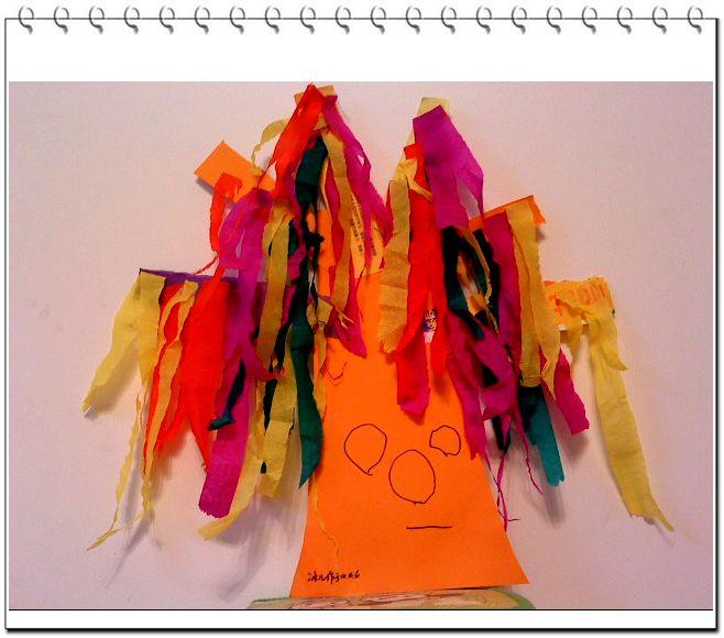 0.4.6  彩虹树(撕贴画)  我们总想着让孩子上各种各样的兴趣班,因为