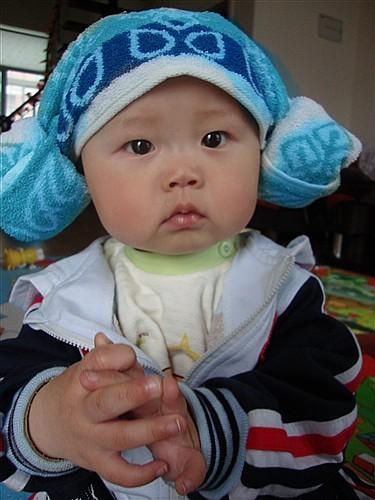 韩国羊角帽