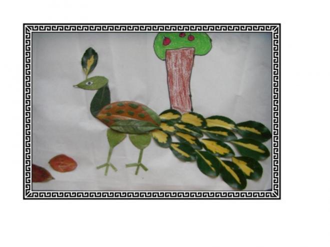 【树叶画】我们的树叶画-我心飞扬的博客