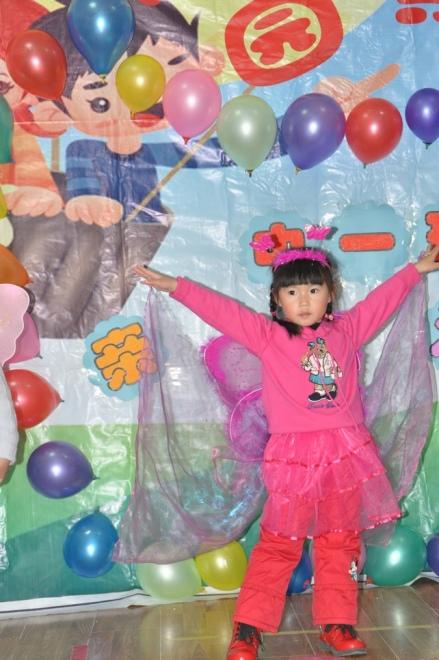 幼儿园化妆舞会 - 贝贝的成长