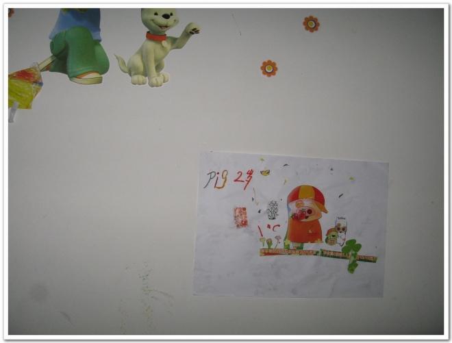小制作 墙贴画