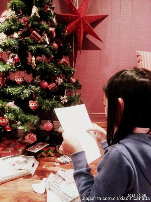 2013-12-26&nbsp;<wbr>圣诞礼物和圣诞老人的信