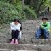 清明节,与小郎,国权一家去浙江神仙居,横店玩了三天。