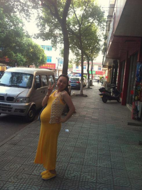 怀疑:怀孕6个月的肚子到底有多大?