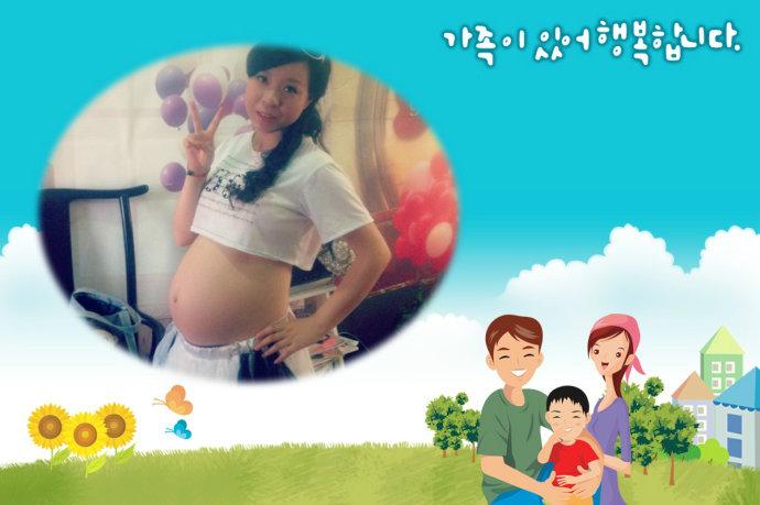 孕30周幸福念念碎及美丽孕照。