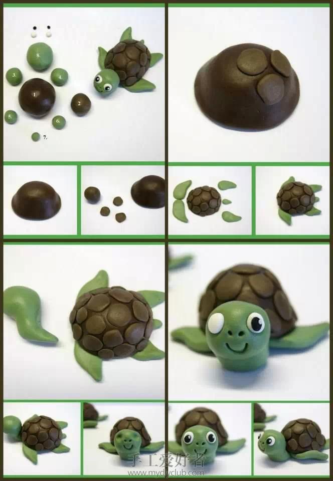 另一种方法的乌龟造型