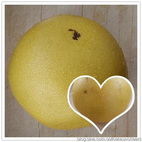 冬日,做一杯蜂蜜柚子茶吧!