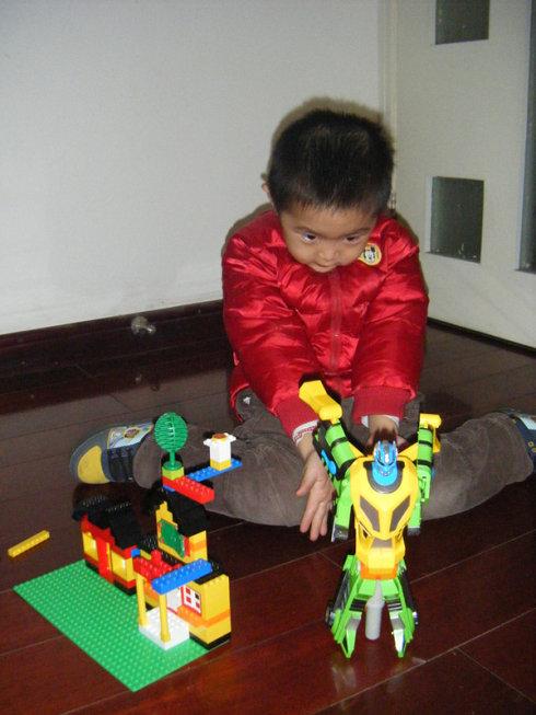 4岁的宝仔,关于未来的想象