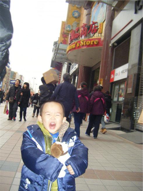 我爱北京天安门——记宝仔的第一次长途旅行