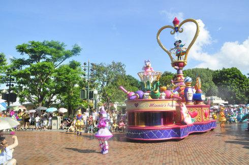 2012,我们的香港迪士尼一日狂欢
