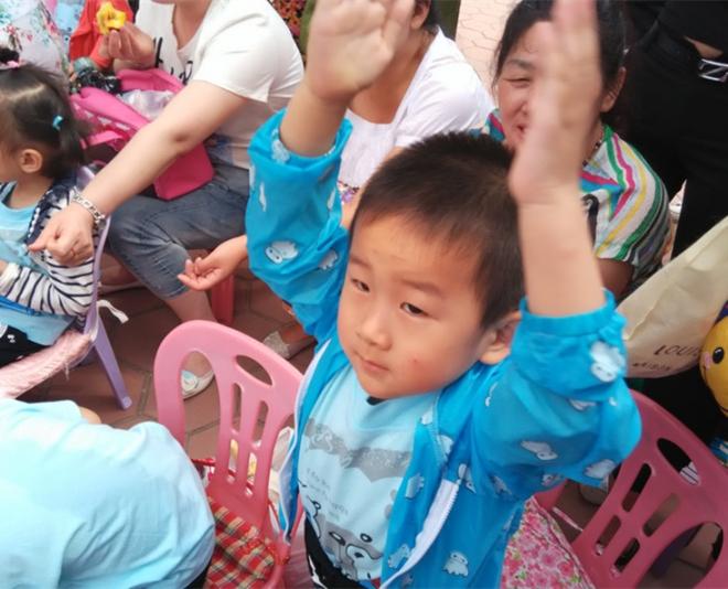幼儿园六一的礼物 - 暖阳的博客